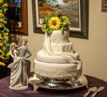 Wedding Cake- Sunflowers
