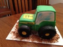 Birthday Cake- tractor