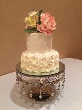 Wedding Cake- buttercream details