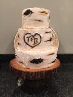 Wedding Cake- wood
