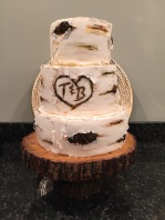 Wedding Cake- wood