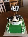 Birthday Cake- soccer