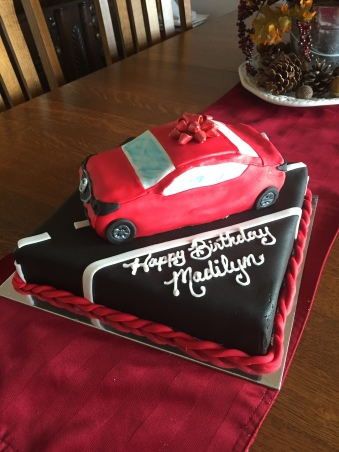 Birthday Cake- car