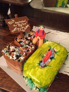 Birthday Cake- fishing